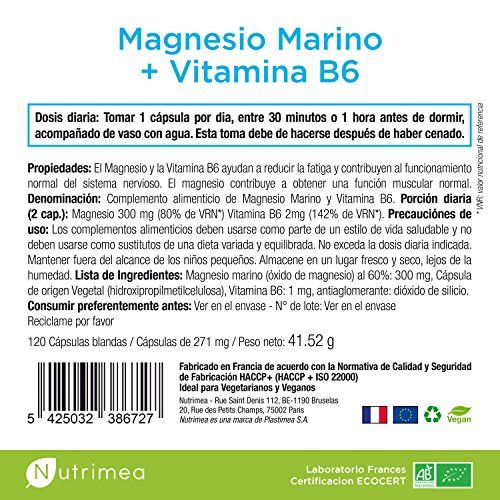 photo Wallpaper of Nutrimea-MAGNESIO MARINO Y VITAMINA B6   ADIOS AL CANSANCIO Y-
