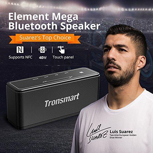 photo Wallpaper of Tronsmart-Bluetooth Lautsprecher, Tronsmart Mega 40W Tragbarer Musikbox, Kabelloser Lautsprecher Mit Mikrofon, Tiefer-Schwarz