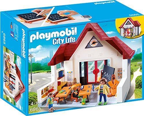 photo Wallpaper of PLAYMOBIL-Playmobil 6865   Schulhaus-blau