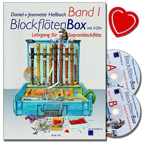 photo Wallpaper of Verlag Acanthus Music-BLOCKFLÖTENBOX Band 1 Mit 2 CDs   Sopranblockflötenlehrgang Für-