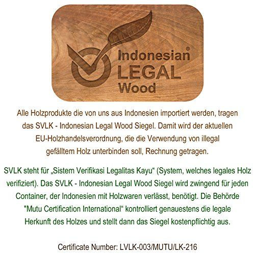 photo Wallpaper of Divero-DIVERO 3 Sitzer Bank Holzbank Gartenbank Sitzbank 150 Cm –-Teak Behandelt
