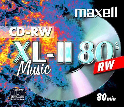 photo Wallpaper of Maxell-10 Maxell CD RW Rohlinge XL II Music Digital Audio-