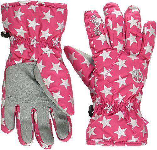 photo Wallpaper of Barts-Barts Kids Handschuhe, Rosa (Berry Stars), 7 (Herstellergröße: 7)-Berry Stars