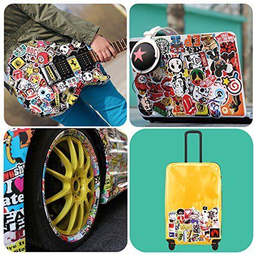 photo Wallpaper of Supower-Aufkleber Bombe Graffiti Aufkleber Pack 200 Stück Wasserdicht Vinyl Aufkleber Für Snowboard Skateboard-