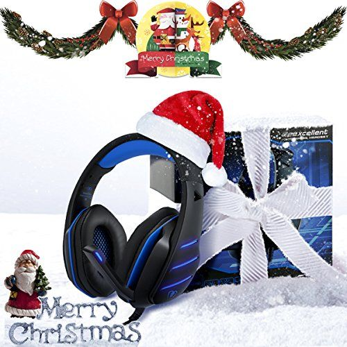 photo Wallpaper of Beexcellent-Gaming Headset Mit Mikrofon Für PC PS4 Xbox One, Beexcellent Professional Stereo Sound Hoher-Blau