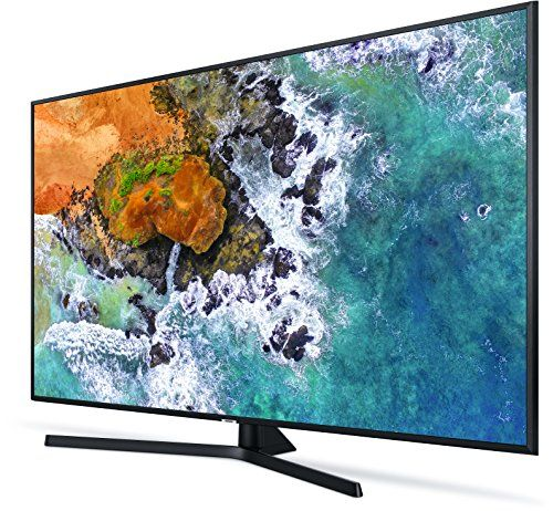 photo Wallpaper of Samsung-Samsung NU7409 108 Cm (43 Zoll) LED Fernseher (Ultra HD, HDR, Triple Tuner,-Charcoal Black
