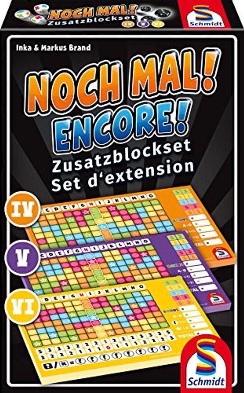 photo Wallpaper of Schmidt Spiele-Schmidt Spiele 49345 Noch Mal Zusatzblöcke (3 Stück)-Mehrfarbig