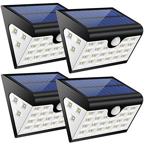 photo Wallpaper of Grandbeing-Solarleuchte Neueste Design 28led Gartenbeleuchtung 3 Seite Solarleuchte Außenlampen Mode Hohe Qualität-Weiß 04