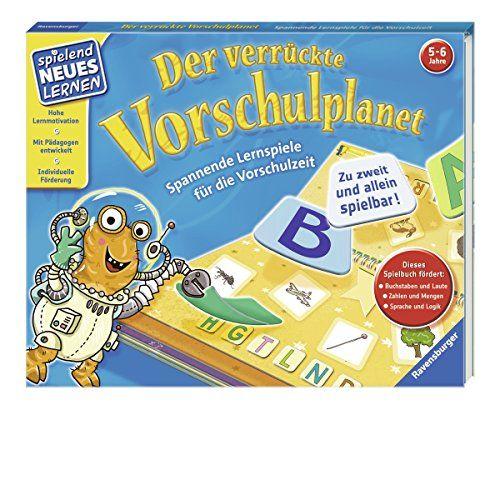 photo Wallpaper of Ravensburger-Der Verrückte Vorschulplanet: Spannende Lernspiele Für Die Vorschulzeit (Spielend Neues Lernen)-