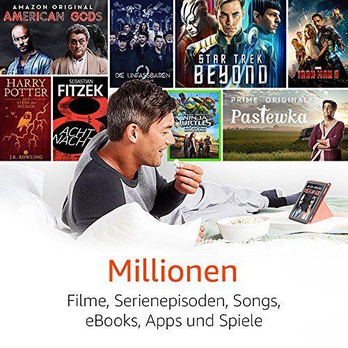 photo Wallpaper of Amazon-Fire HD 10 Tablet Mit Alexa Hands Free, 25,65 Cm (10,1 Zoll)-Schwarz