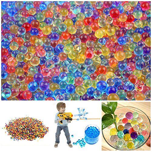 photo Wallpaper of Magic show-18000 X Wasser Kugel Kugeln Gewehr Pistole Spielzeug Kristallboden  Wasser Perlen-
