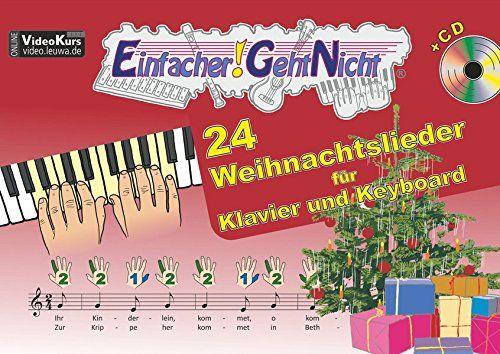 photo Wallpaper of -Einfacher! Geht Nicht: 24 Weihnachtslieder Für Klavier Und Keyboard Mit CD: Das-