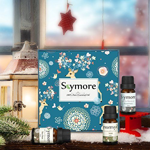 photo Wallpaper of Skymore-Skymore Top 8 Aceites Esenciales Set, 100% Puro Aroma Aceite, (Limón, Lavanda, Árbol De-