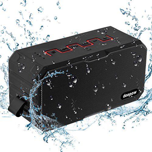 photo Wallpaper of DEEPOW-Bluetooth Lautsprecher, IP67 Wasserdicht Lautsprecher Von DEEPOW, Outdoor Tragbar Musik Box-
