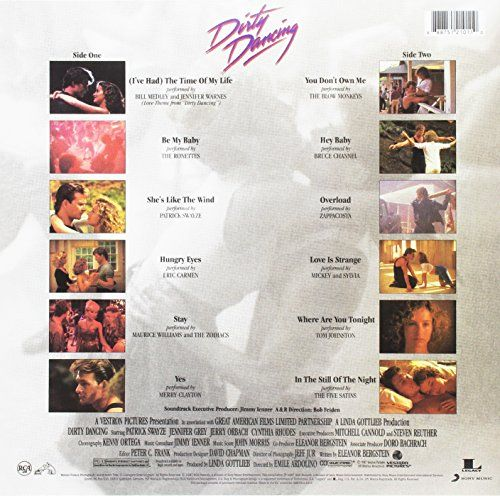 photo Wallpaper of RCA/LEGACY-Dirty Dancing (Original Motion Picture Soundtrack) [Vinyl LP]-
