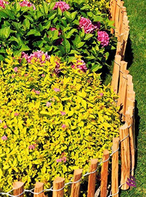 photo Wallpaper of Floranica-Floranica®   Dekorativer Steckzaun Aus Holz   Keine-(7-8 cm)