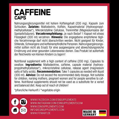 photo Wallpaper of ESN-ESN Caffeine Caps, 120 Kapseln, 129 G-