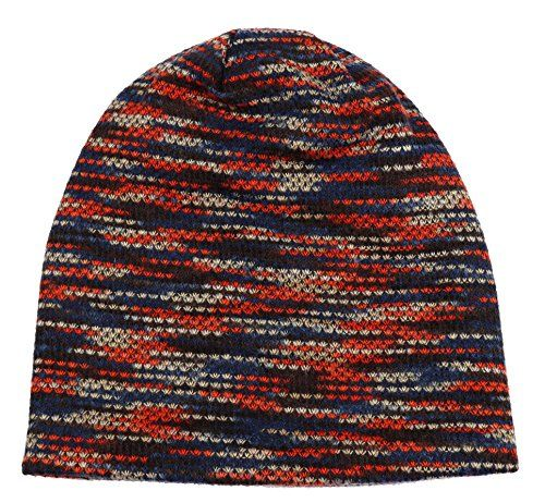 photo Wallpaper of CoCo Fashion-CoCo Fashion Unisex Beanie Mütze Elastisch Slouch Strickmütze Warme Wintermütze Skimützen, 045_Rot,-045_Rot