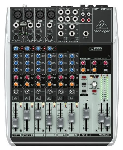 photo Wallpaper of Behringer-Behringer XENYX Q1204USB Mixer-