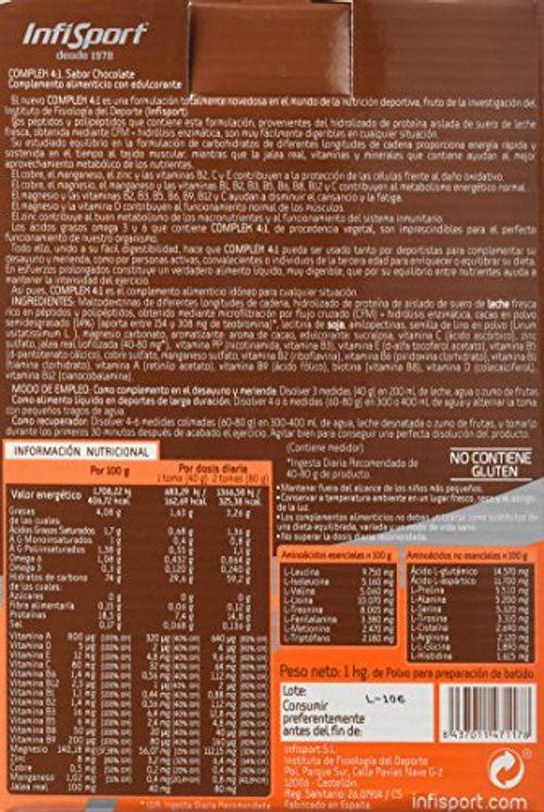 photo Wallpaper of INFISPORT-Infisport Complex 4:1   Mix De Carbohidrados Y Proteínas-Chocolate