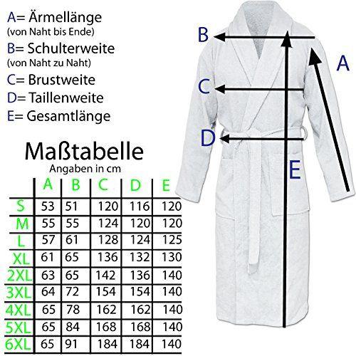 photo Wallpaper of HOMELEVEL-HOMELEVEL Frottee Bademantel Reisebademantel 100% Baumwolle Bademantel S   6 XL Frauen-