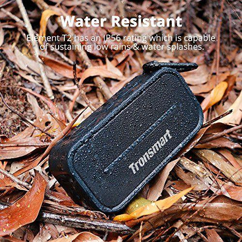 photo Wallpaper of Tronsmart-Bluetooth Lautsprecher, Tronsmart 10W Dual Driver IPX5 Wasserresistent, 12 Stunden Spielzeit, Tragbare-Schwarz