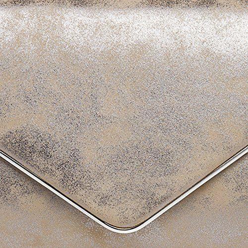 photo Wallpaper of CASPAR Fashion-CASPAR TA349 Damen Elegante Envelope Clutch Tasche / Abendtasche Mit Langer Kette,-Taupe