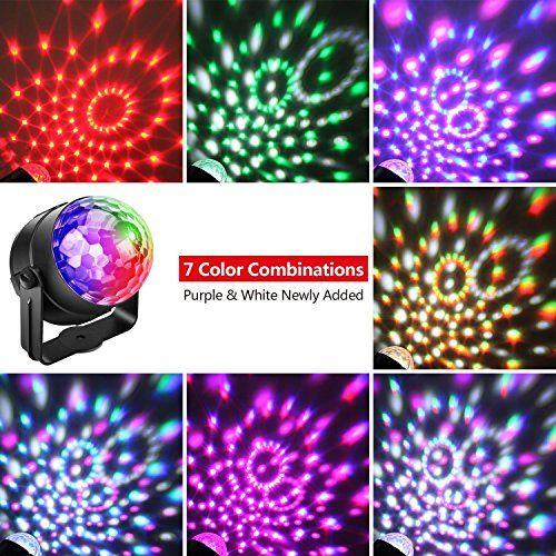 photo Wallpaper of Alviller-(3.Generation) Disco Lichteffekte, Christmas Party Licht Beleuchtung Discolicht Partylicht Led-
