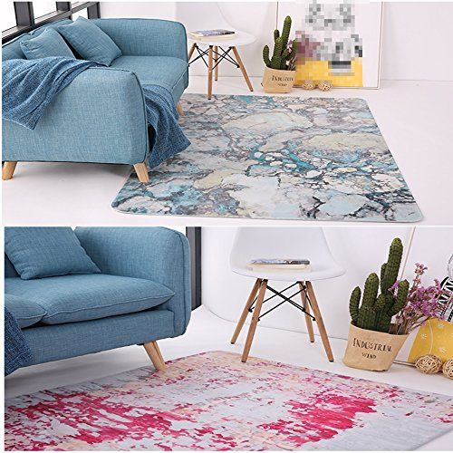 photo Wallpaper of Carpet..A-ASL Rechteckiger Teppich, Breathable Thin Carpet Schlafzimmer Bedside Rug Table-#4