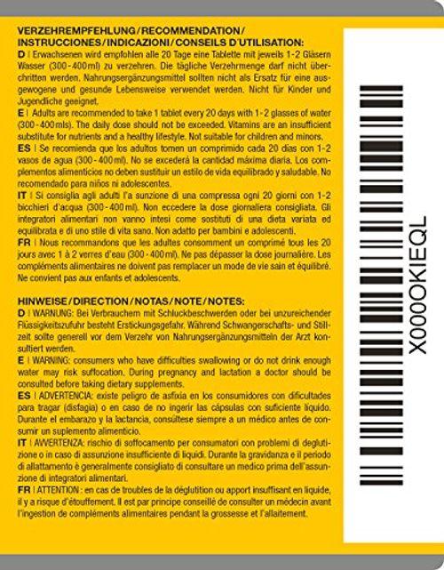 photo Wallpaper of VISPURA-Vitamina D3 Altamente Concentrada, 20.000 UI (dosis De 20 Días), 180 Comprimidos Vegetarianos-