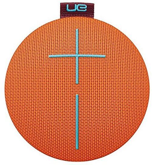 photo Wallpaper of Ultimate Ears-Ultimate Ears ROLL 2 Bluetooth Lautsprecher (Tragbar Mit Floatie, Wasserdicht Und-orange/blau