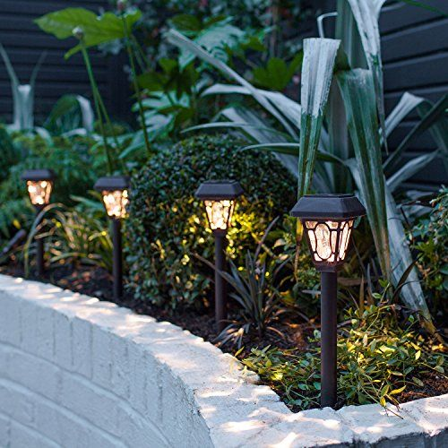 photo Wallpaper of Lights4fun-8er Set LED Solar Wegbeleuchtung Barock Lights4fun-Menge: 8 Stk.