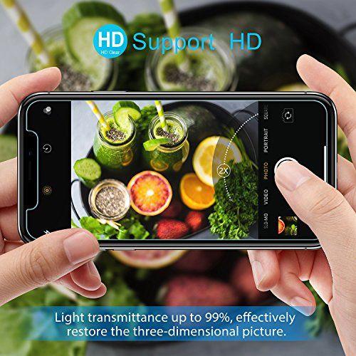 photo Wallpaper of Beikell-IPhone X Panzerglas, Beikell [2 Pack] Premium Schutzfolie Displayschutz Folien-durchsichtig