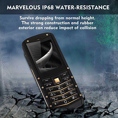 photo Wallpaper of HAMSWAN-Móviles Libres Impermeables, HAMSWAN Teléfono Celular Impermeable IP68 AGM M2 Antipolvo Y Antigolpe-Arma 1