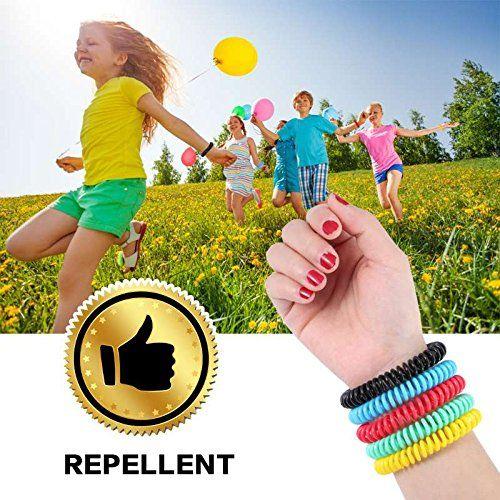 photo Wallpaper of Diswoe-Diswoe Moskito Armband Mückenschutz Armband 10 Stück Repellent Moskito Repellent Armbänder Dauert Bis-