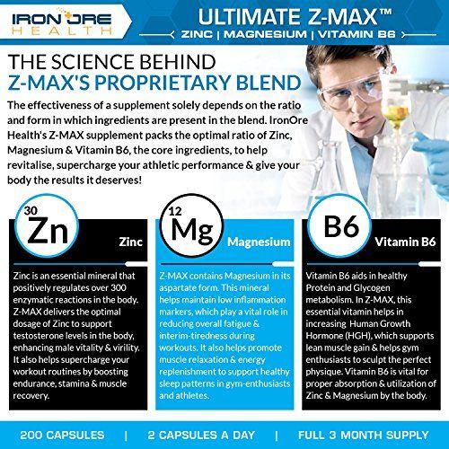 photo Wallpaper of Iron Ore Health-Z MAx – 200 Cápsulas Con Suplemento De Zinc, Magnesio Y-