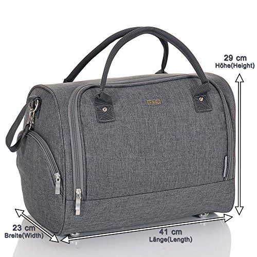 photo Wallpaper of LCP Kids-LCP Kids Bolso De Cambiador Bebé Pañales Impermeable Sydney Gris-Gris