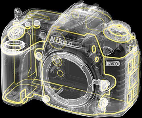 photo Wallpaper of Nikon-Nikon D7200 SLR Digitalkamera (24 Megapixel, 8 Cm (3,2 Zoll) LCD Display, Wi-Schwarz