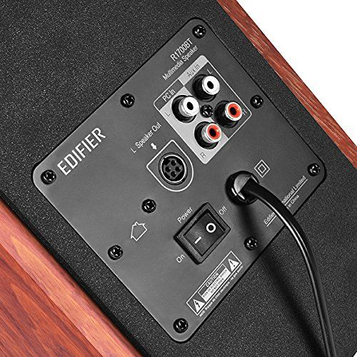 photo Wallpaper of Edifier-EDIFIER R1700BT Studio Bluetooth Lautsprechersystem (66 Watt) Mit Infrarot Fernbedienung Braun-Holz