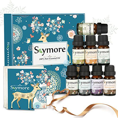 photo Wallpaper of Skymore-Skymore Top 8 Aceites Esenciales Set, 100% Puro Aroma Aceite, (Limón,-