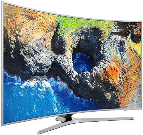 photo Wallpaper of Samsung-Samsung UE55MU6509 138 Cm (55 Zoll) Curved Fernseher (Ultra HD,-Silber