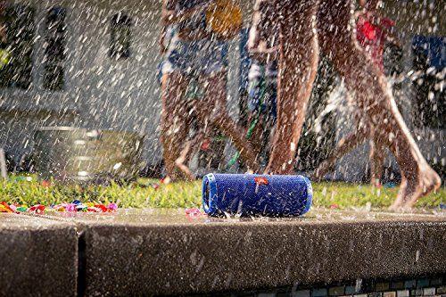 photo Wallpaper of JBL-JBL Flip 3 Spritzwasserfester Tragbarer Bluetooth Lautsprecher Mit Außerordentlich Kraftvollem Klang Im Kompakten Design,-Blau