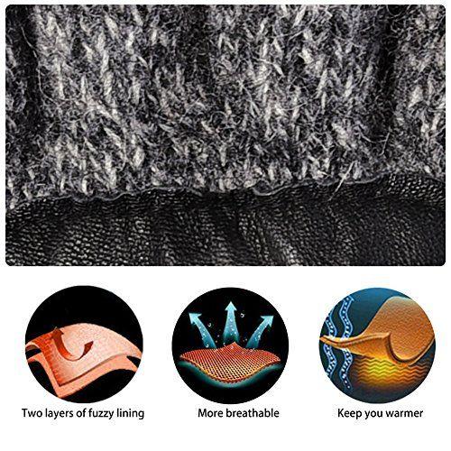 photo Wallpaper of Vbiger-Vbiger Winter Handschuhe Warme Handschuhe Baumwolle Damen Frauen Handschuhe, Stil-Stil 2 Grau(l)