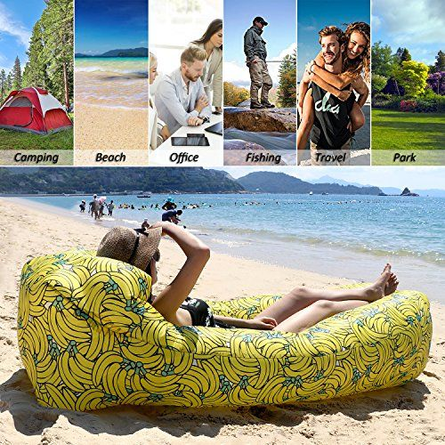 photo Wallpaper of Fansport-Fansport Aufblasbares Sofa Wasserdichtes Sofa Strand Sofa Tragbares Sofa Garten Aufblasbar Reise Couch Aufblasbare-