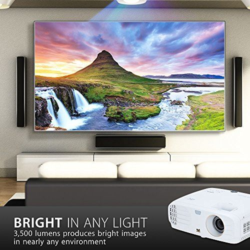 photo Wallpaper of ViewSonic-Viewsonic PX747 4K UHD Heimkino DLP Projektor (4K, 3.500 ANSI Lumen, 2x HDMI, 10-weiß