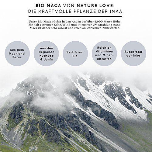 photo Wallpaper of Nature Love-Bio Maca Kapseln   3000mg Schwarzes Bio Maca Je Tagesdosis. 180-
