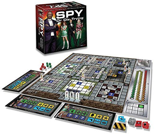 photo Wallpaper of Warm Acre Games-Board Game   Spy Or Die Trying-