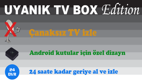 photo Wallpaper of Euroturk Media Ltd-Uyanık TV Box For Fire TV-