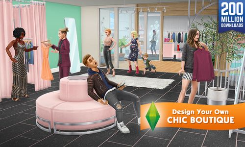 photo Wallpaper of Electronic Arts-Die Sims FreePlay-