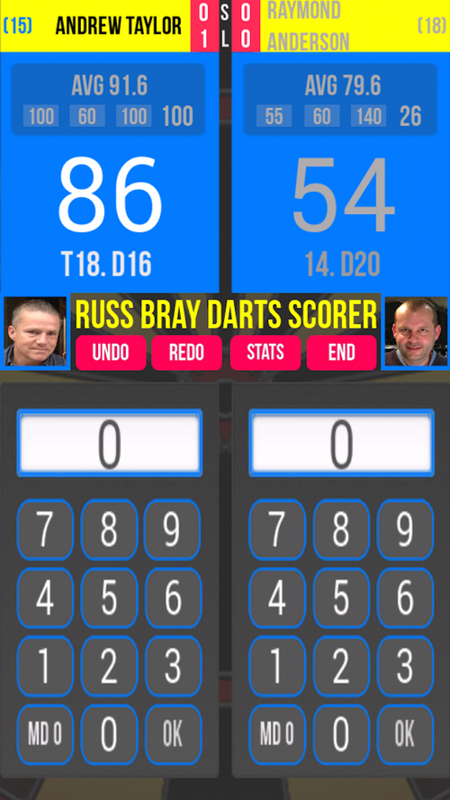 photo Wallpaper of TIG Apps Limited-Russ Bray Darts Scorer-